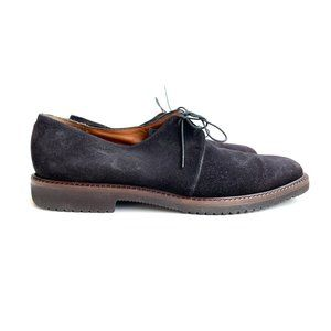 Salvatore Ferragamo Studio Men's 10 M Suede Shoes